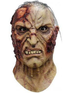 Rasende zombie maske til voksne
