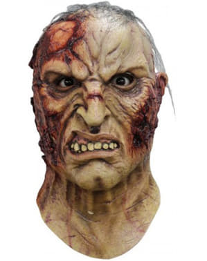 Rasende Zombie Maske Voksen