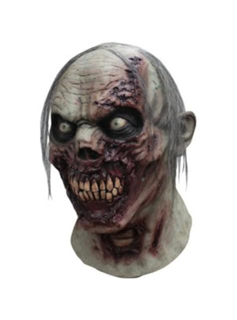 Máscara de zombie en descomposición para adulto