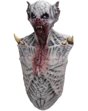 Adult's Bloodthirsty Zombie Mask and Chest