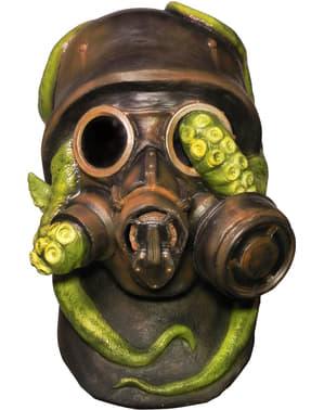 Máscara antigás con pulpo radioactivo para adulto