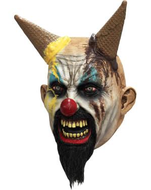 Máscara de heladero asesino para adulto