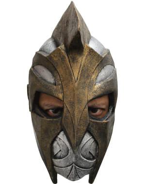Máscara de gladiador valente para adulto