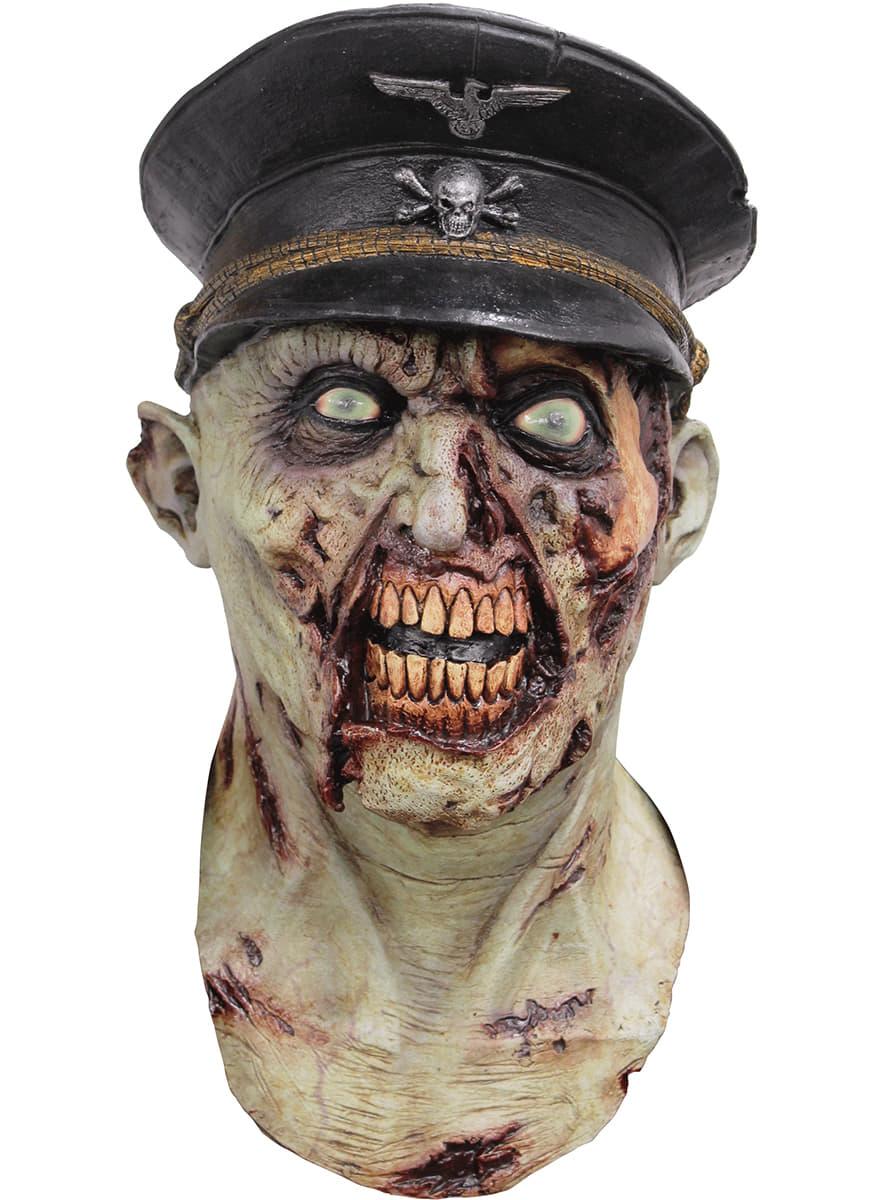 Masker Zombie Kapitein Van Het Leger Voor Volwassenen