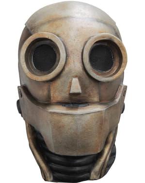 Mască de robot galactic pentru adult