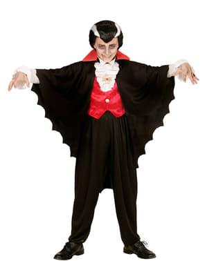 Capa de conde vampírico para niño