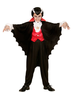 Capa de conde vampiro para menino