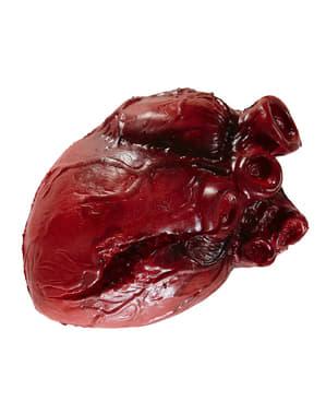 Figura decorativa de corazón sangriento
