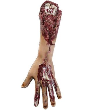 Figura decorativa de braço amputado