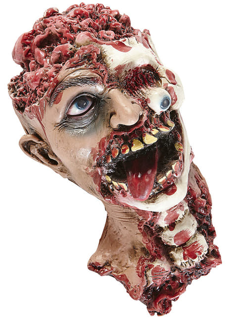 Figura decorativa de cabeza desgarrada