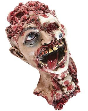 Figura decorativa de cabeça desgarrada