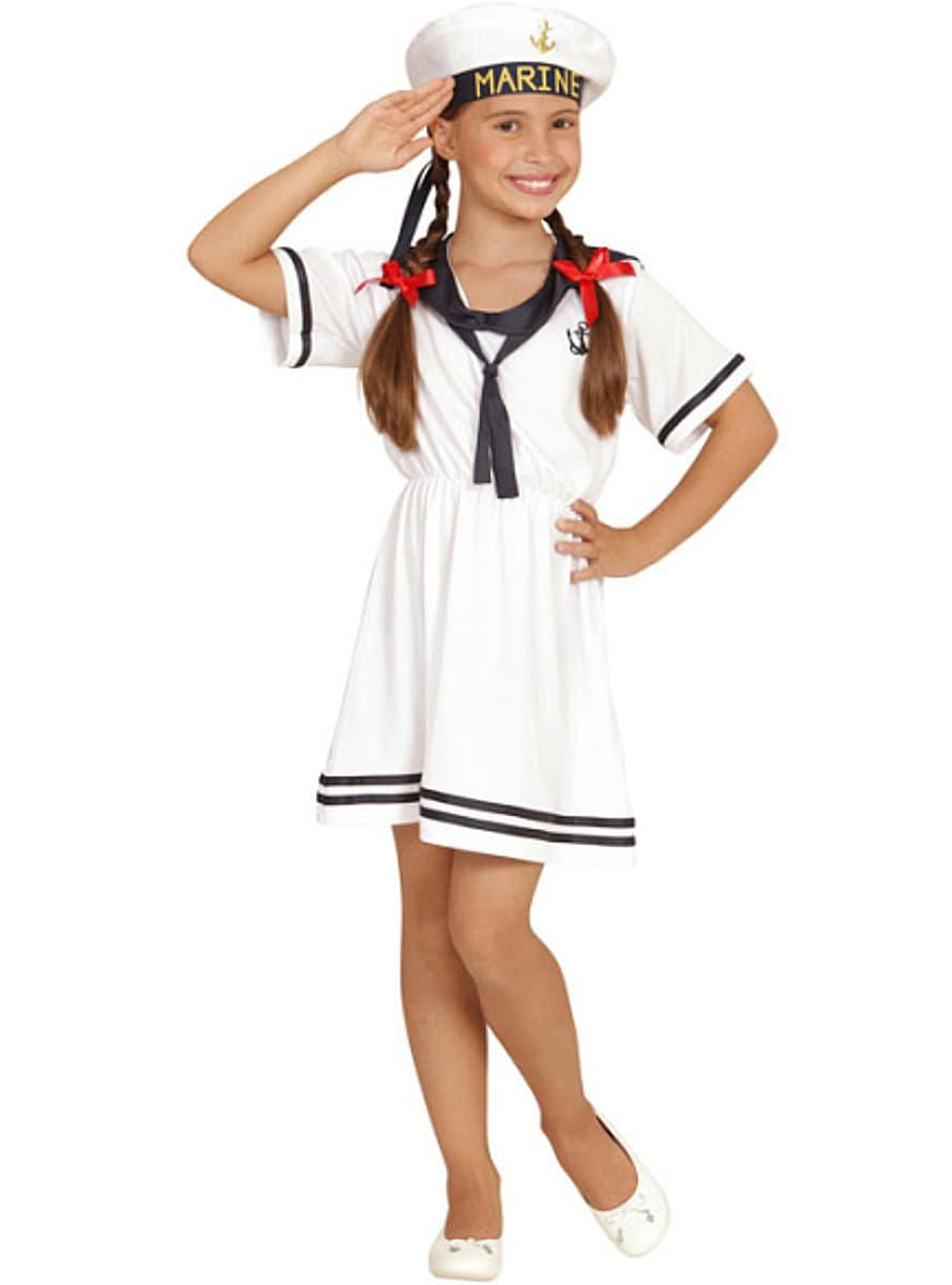 Girl 39 s adorable sailor girl costume - Disfraz marinera casero ...