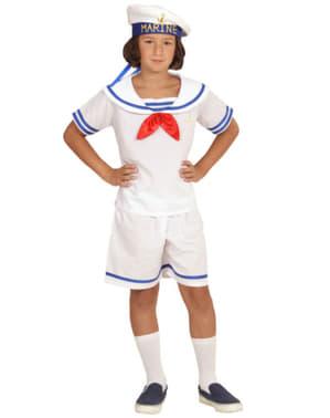 Elegant retro marinier kostuum voor kinderen