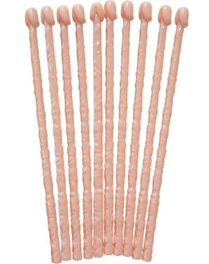 10 Penis Drink Stirrers