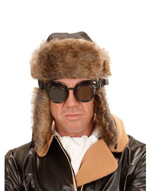 Óculos de piloto retro para adulto