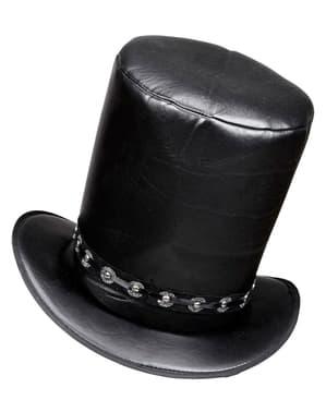 Chapéu de músico roqueiro para adulto