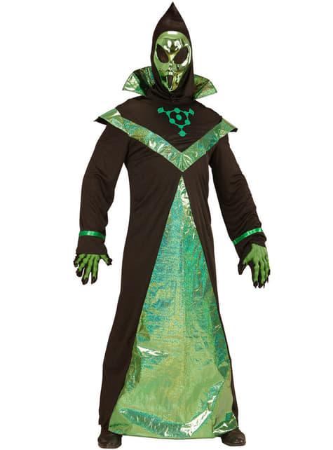 Disfraz de alienígena poderoso para hombre