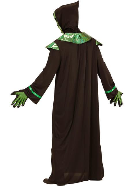 Disfraz de alienígena poderoso para hombre talla grande