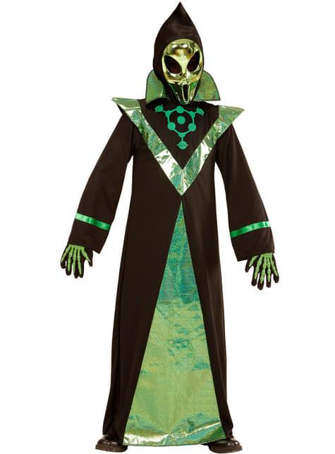 Disfraz de alienígena poderoso para niño