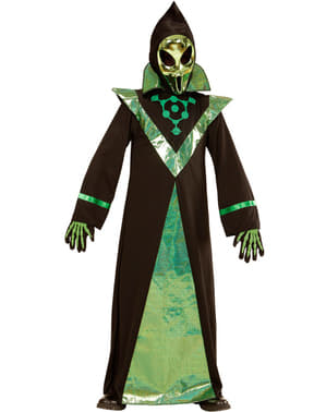 Chlapecký kostým mocný mimozemšťan