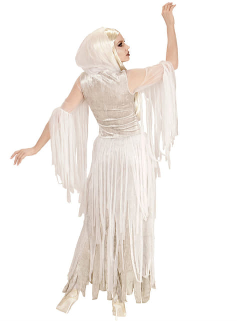 Disfraz de espíritu fantasmal para mujer - mujer