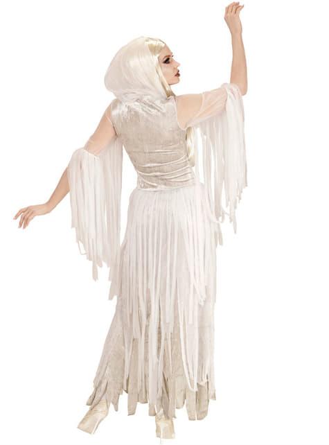 Fato de espírito fantasmagórico para mulher tamanho grande