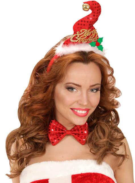 Mini chapeau et Noeud papillon Noël adulte