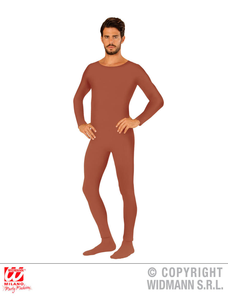 adult brown body suit