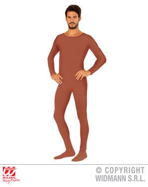 Brun Body Suit Voksen