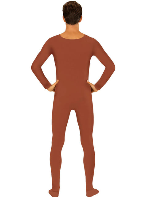 Adult's Brown Body Suit