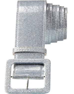 Adult's Silver Disco Belt