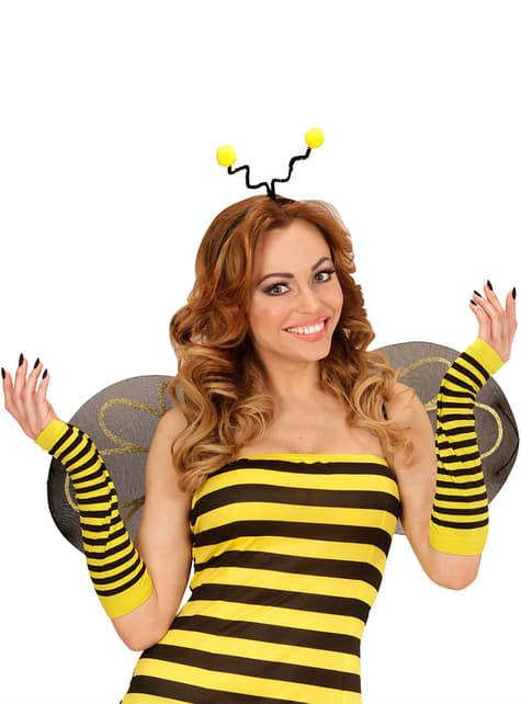 Guantes largos de abeja para mujer - para tu disfraz