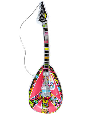 Hippie mandolin uppblåsbar