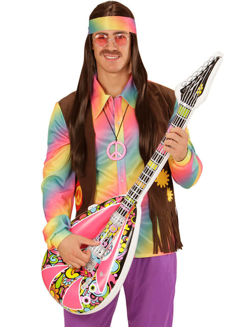 Mandoline hippie gonflable