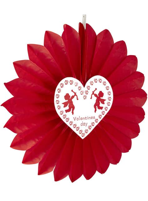 Farol con Cupido San Valentín - para tus fiestas
