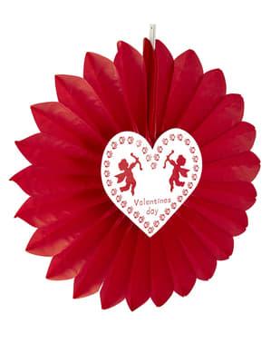 Lampion z kupidem Walentynki