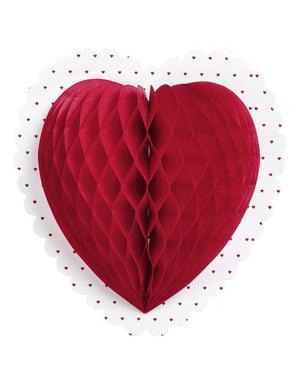 装飾的な聖バレンタインの心