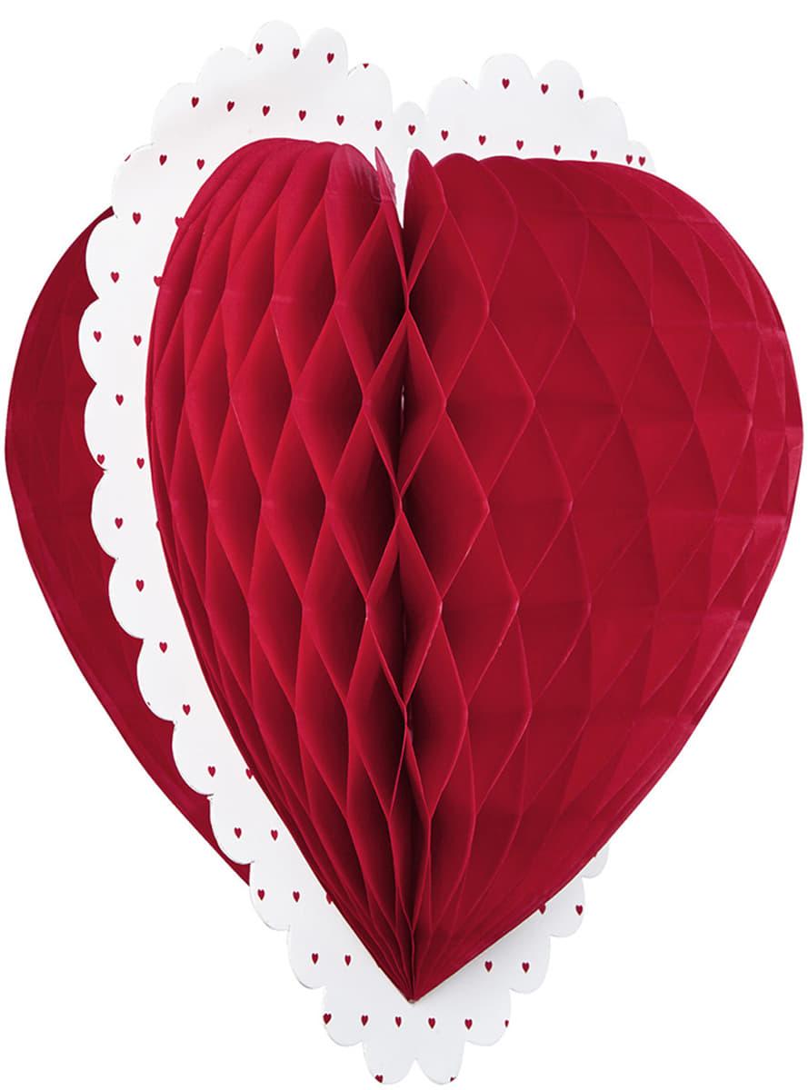 cœur décoration st valentin pour déguisement | funidelia