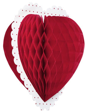 Dekorativ St Valentine Hjerte