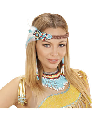 Indianerin Set für Damen