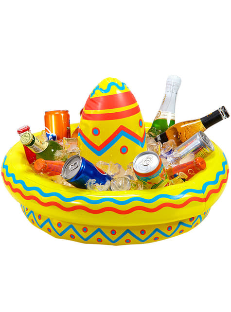 Sombrero mexicano hinchable