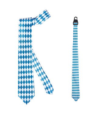 Bayrische Krawatte für Erwachsene