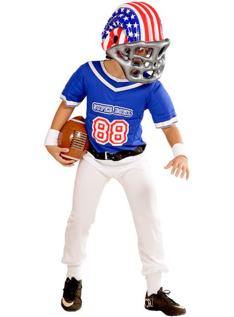 Casco de fútbol americano USA para niño - para tu disfraz