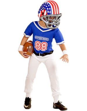 Boy's USA American Football Helmet
