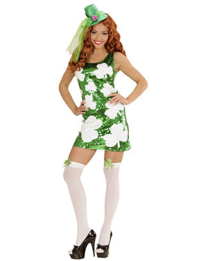 Woman's Sexy Irish Girl Costume
