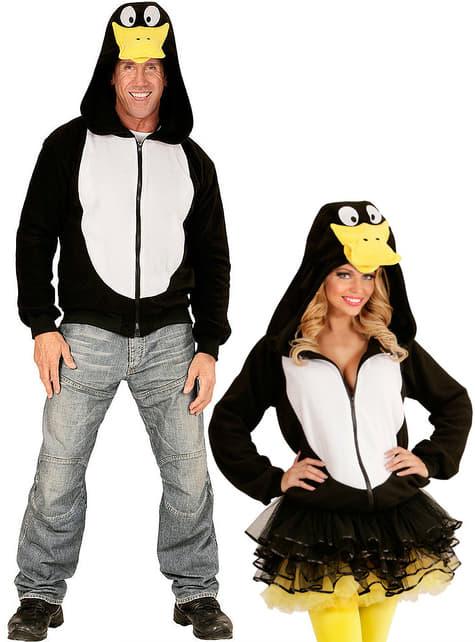 Sudadera de pingüino alegre para adulto