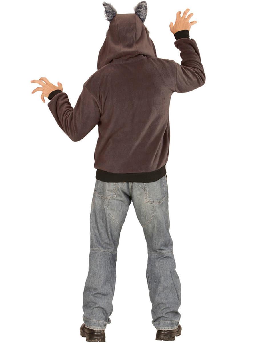 wolf sweatshirt f r erwachsene f r kost m funidelia. Black Bedroom Furniture Sets. Home Design Ideas