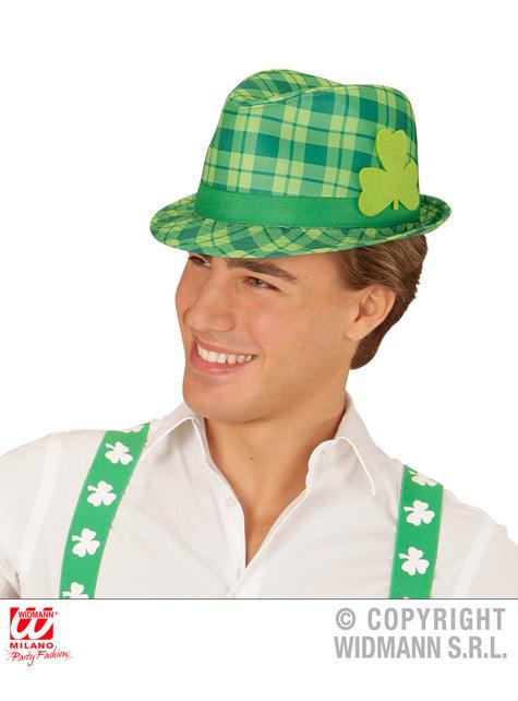 Sombrero irlandés de cuadros para adulto - para tu disfraz