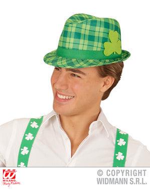 Cappello irlandese a quadretti per adulto