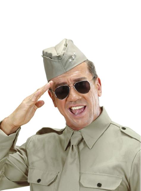 Amerikaanse soldaat hoed voor volwassenen